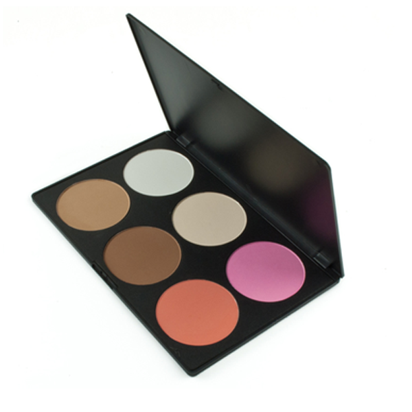 Pink and Peach 6 Color Blush Palette - BoardwalkBuy