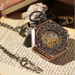 Hexlock Mechanical Pocket Watch - Ashley Jewels - 4