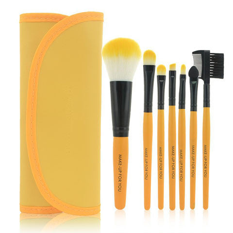 Professional 7 Pcs / Kit Makeup Brushes Set