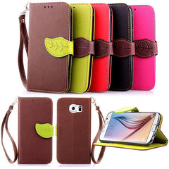 leaves lock wallet standard case for Samsung Galaxy S6 - BoardwalkBuy - 1