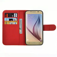 Wallet Stand Leather Case for Samsung S6 - BoardwalkBuy - 4