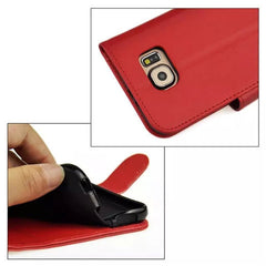 Wallet Stand Leather Case for Samsung S6 - BoardwalkBuy - 5