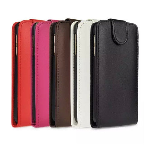 Flip Leather Case for Samsung Galaxy S6 - BoardwalkBuy - 1