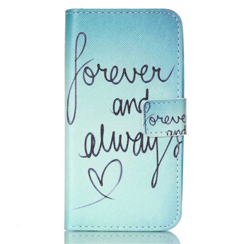 Forever Stand Leather Case For Samsung S4