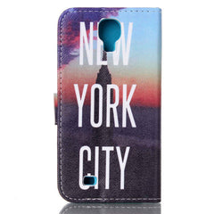 New York Stand Leather Case For Samsung S4 - BoardwalkBuy - 3