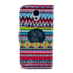 Matata Stand Leather Case For Samsung S4 - BoardwalkBuy - 3