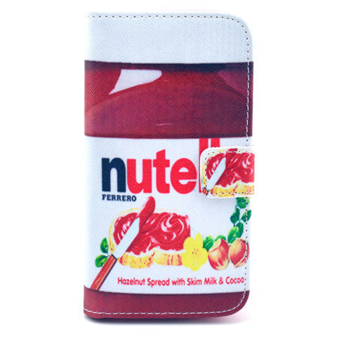 Nutella Stand Leather Case For Samsung S4 - BoardwalkBuy - 1