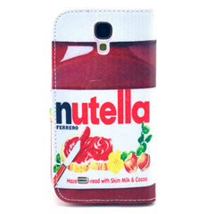 Nutella Stand Leather Case For Samsung S4 - BoardwalkBuy - 3