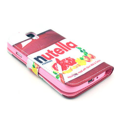 Nutella Stand Leather Case For Samsung S4 - BoardwalkBuy - 4