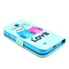 Love Stand Leather Case For Samsung S4 - BoardwalkBuy - 2