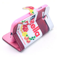 Nutella Stand Leather Case For Samsung S4 - BoardwalkBuy - 2