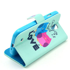 Love Stand Leather Case For Samsung S4 - BoardwalkBuy - 4