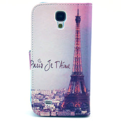 Paris Stand Leather Case For Samsung S4 - BoardwalkBuy - 3
