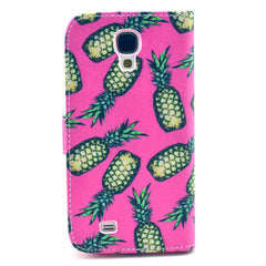 Pineapple Stand Leather Case For Samsung S4 - BoardwalkBuy - 3