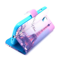 Paris Stand Leather Case For Samsung S4 - BoardwalkBuy - 2