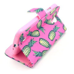 Pineapple Stand Leather Case For Samsung S4 - BoardwalkBuy - 2