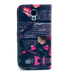 love Stand Leather Case For Samsung S4 - BoardwalkBuy - 3