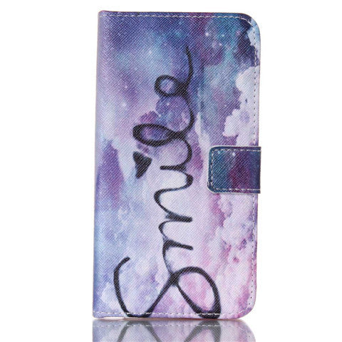 Purple Stand Leather Case For Samsung S5 - BoardwalkBuy - 1