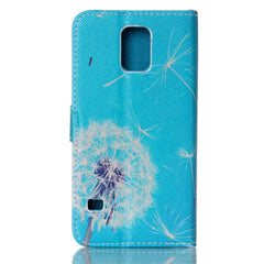Dandelion Stand Leather Case For Samsung S5 - BoardwalkBuy - 4