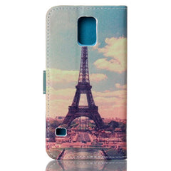 Paris Stand Leather Case For Samsung S5 - BoardwalkBuy - 4
