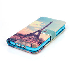 Paris Stand Leather Case For Samsung S5 - BoardwalkBuy - 2