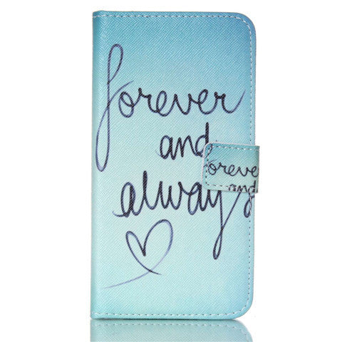 Forever Stand Leather Case For Samsung S5