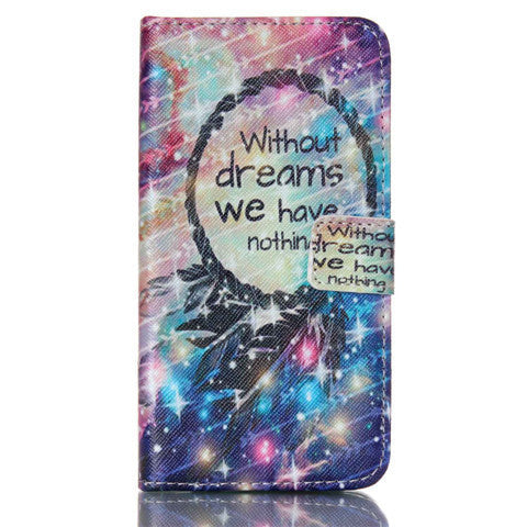 Dream Stand Leather Case For Samsung S5