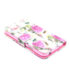 Flower tower Stand Leather Case For Samsung S5 - BoardwalkBuy - 4