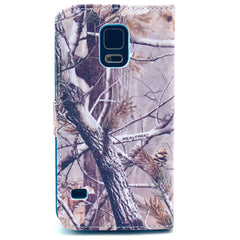 Branch Stand Leather Case For Samsung S5 - BoardwalkBuy - 3