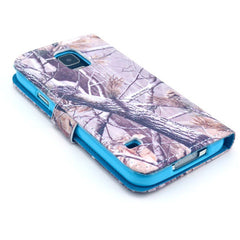 Branch Stand Leather Case For Samsung S5 - BoardwalkBuy - 2