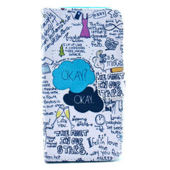 OK Stand Leather Case For Samsung S4 - BoardwalkBuy - 1