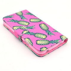 Pineapple Stand Leather Case For Samsung S5 - BoardwalkBuy - 4