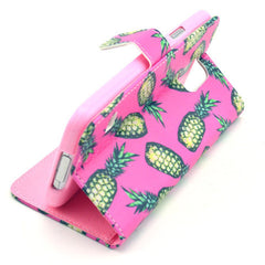 Pineapple Stand Leather Case For Samsung S5 - BoardwalkBuy - 2