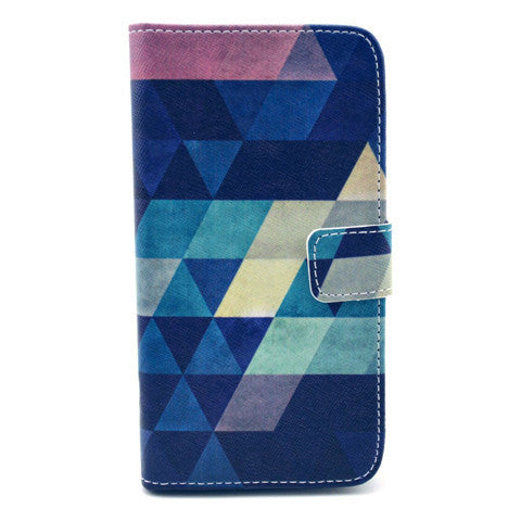 Dream of diamond Stand Leather Case For Samsung S5