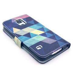 Dream of diamond Stand Leather Case For Samsung S5 - BoardwalkBuy - 4