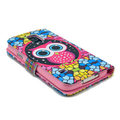 Masonry owl Stand Leather Case For Samsung S5 - BoardwalkBuy - 4