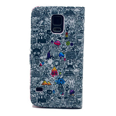 Comic Stand Leather Case For Samsung S5 - BoardwalkBuy - 3