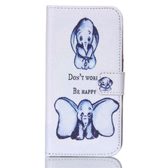 Elephant Stand Leather Case For Samsung S6 - BoardwalkBuy - 1