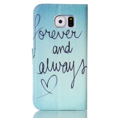 Forever  Stand Leather Case For Samsung S6 - BoardwalkBuy - 4