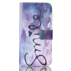 Purple Smile Stand Leather Case For Samsung S6 - BoardwalkBuy - 1