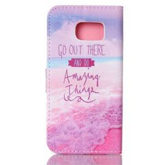 Pink Stand Leather Case For Samsung S6 - BoardwalkBuy - 4