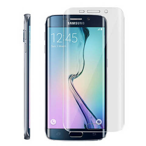 Tempered glass screen cover protector for Samsung Galaxy S6 Edge