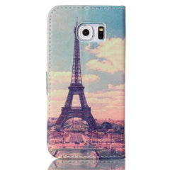 The Eiffel Tower Stand Leather Case For Samsung S6 Edge - BoardwalkBuy - 3