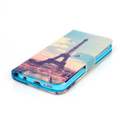 The Eiffel Tower Stand Leather Case For Samsung S6 Edge - BoardwalkBuy - 1
