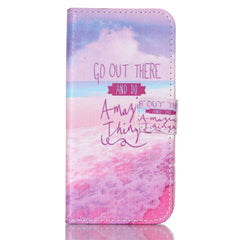 Pink Stand Leather Case For Samsung S6 Edge - BoardwalkBuy - 1