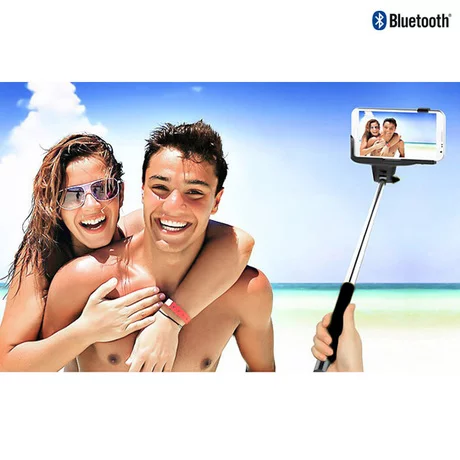 Selfie Stick With Shutter Button - BoardwalkBuy