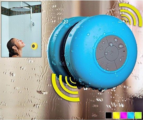 Bluetooth Shower Speaker - Assorted Colors - BoardwalkBuy - 1