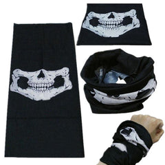 Skull Multifunction Magic Scarf Outdoor Riding Masks - BoardwalkBuy - 2