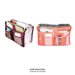 Slim Bag-in-Bag Purse Organizer - Assorted Color - BoardwalkBuy - 4