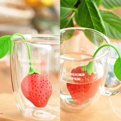 Strawberry Tea Infuser - BoardwalkBuy - 4